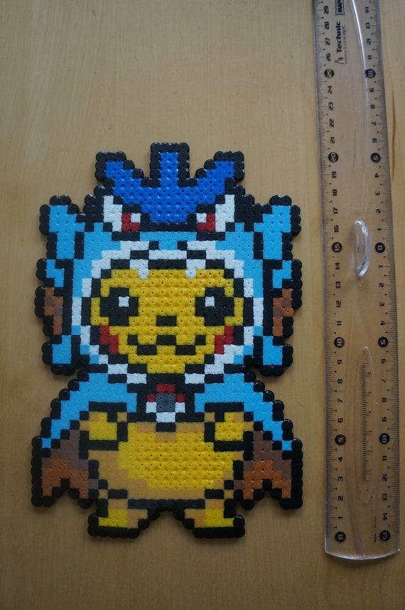 Pixel Art / Perler Beads Pokemon Pikachu