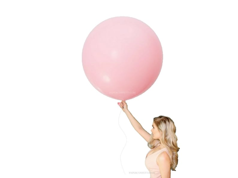 Engagement Party Decorations 30 Blush Pink Latex Balloon Baby Shower Decorations It/'s A Girl Jumbo Balloons Baby Girl Decorations