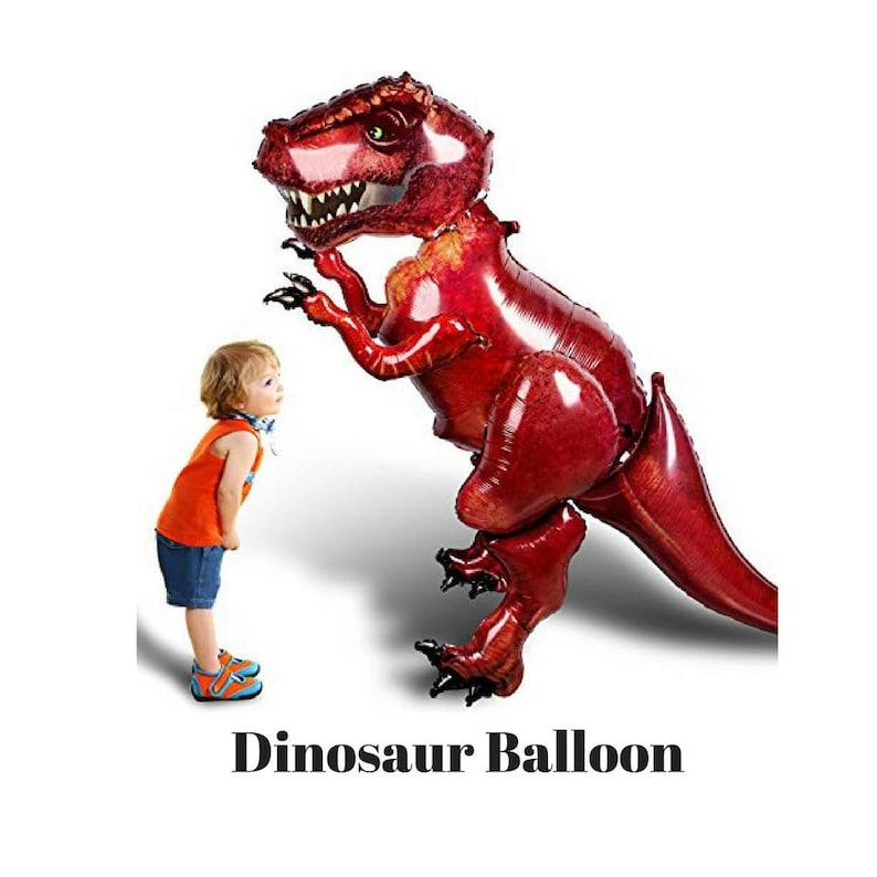 Dinosaur Balloon Jurassic World Birthday GIANT Dinosaur Balloon Dinosaur Birthday Party Dino Party Jurassic World Decorations