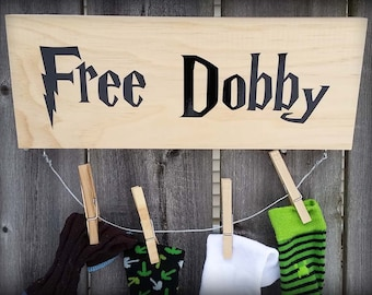 A Sock For Dobby - Free Dobby Lost Sock Holder