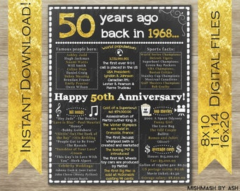 50th anniversary trip ideas