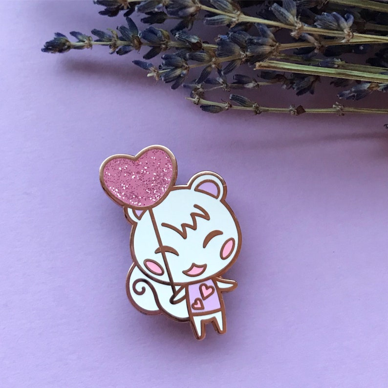 Heartballon Marshal Enamel Pin