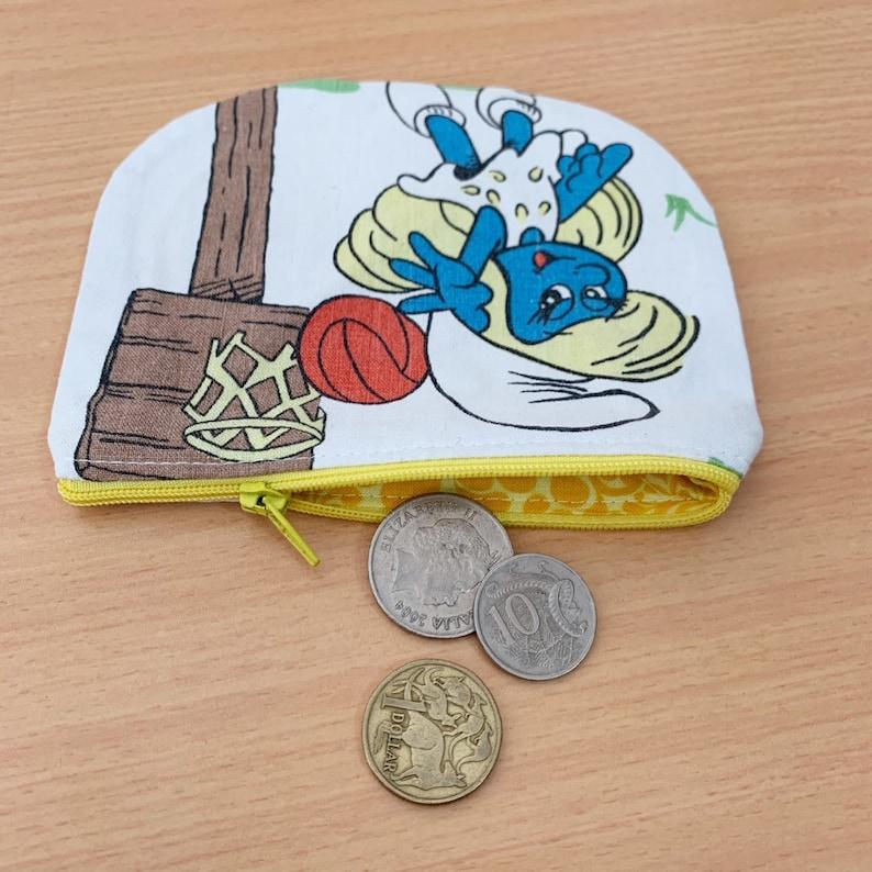 Genuine Vintage Smurf Coin Purse