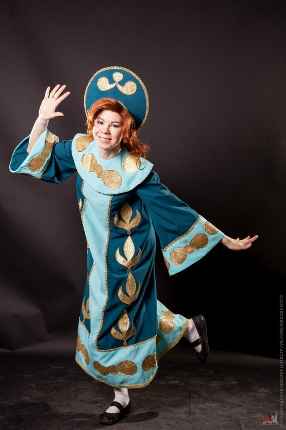 Anastasia Little Princess Costume Cosplay Movie Cartoon Russia Etsy