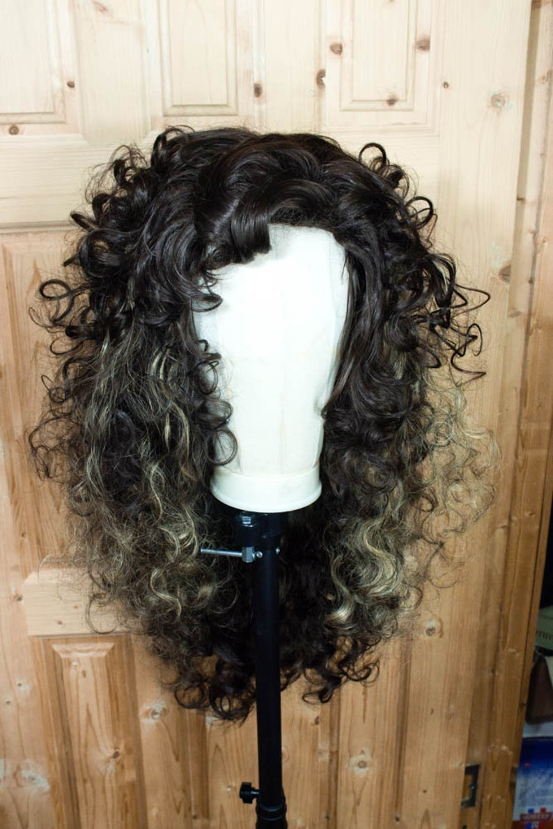 Bellatrix Lestrange Wig Halloween Costume For Adult