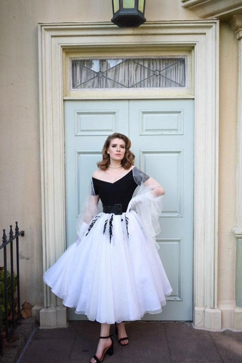 Lisa Fremont Grace Kelly dress Halloween costume for Adult image 0
