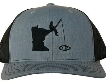 63bf4e7af16 Minnesota Fishing Snapback Hat