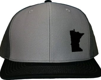 4c9198ac60831 Minnesota Snapback Hat - Grey Charcoal Black
