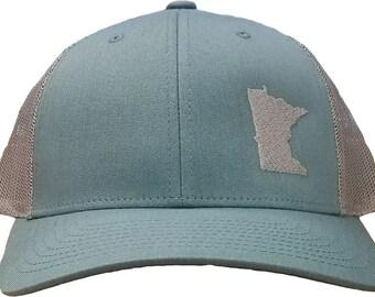 382ad506c01 Minnesota Snapback Hat - Smoke Blue Aluminum