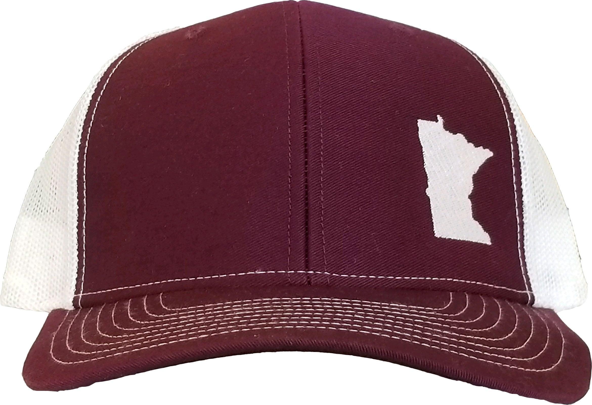 a4c018bd271 Minnesota Snapback Hat Maroon White