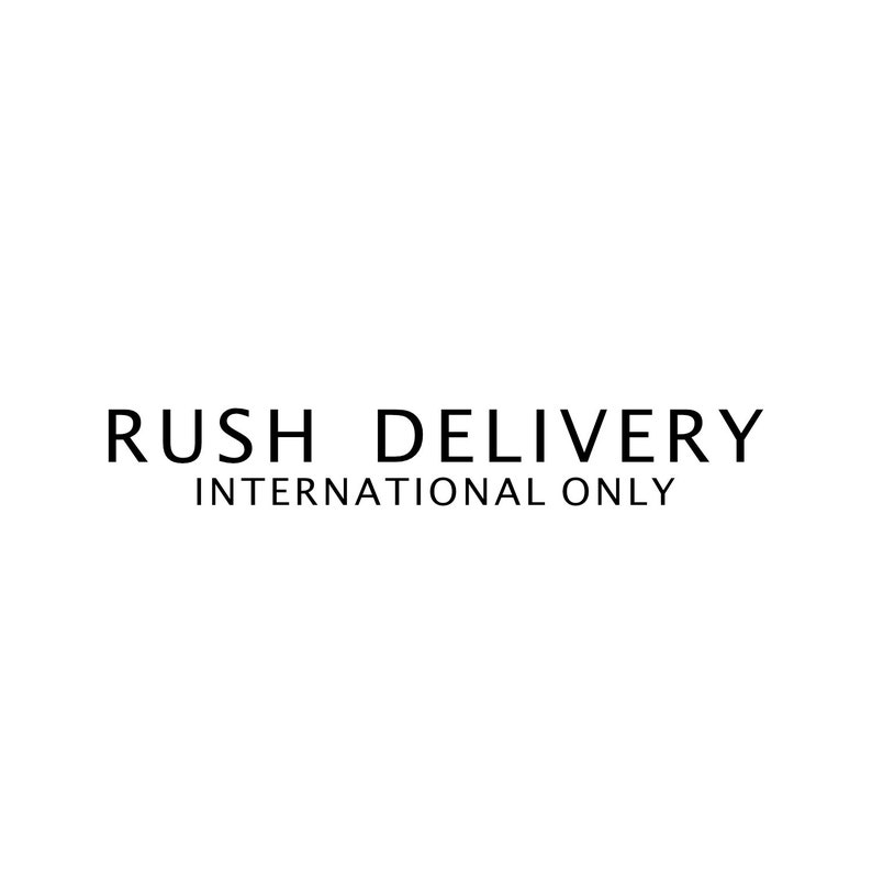 Rush Delivery USA ONLY prioritise and speed up delivery time image 0