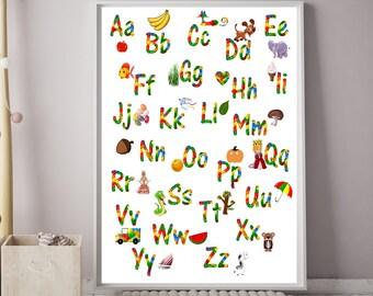 Alphabet Prints, Lego Alphabet Poster, Lego Letters, Lego Print, A-Z Prints, Boys Bedroom Decor, Lego Wall Art, Boys Prints, Alphabet
