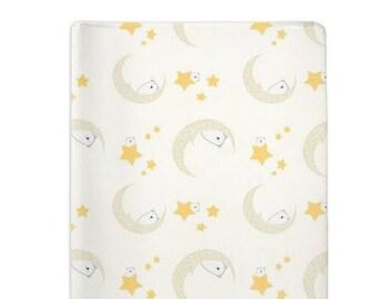 Change Pad Cover Woodland Bear-PeekABoo-Nursery Changing Mat Cover-Change Pad-Woodland Print-Peek A Boo-Woodland Nursery-Baby Shower Gift