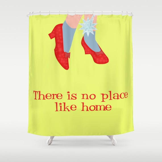 Wizard Of Oz Shower Curtain Yellow Cool Cinema Lover