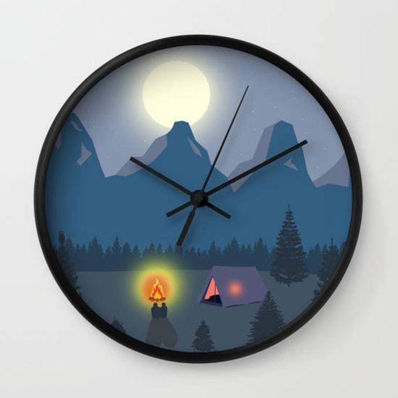 Psychedelische Kreise Wanduhr Cool Ekuche Uhr Office Uhr Einzigartige Geschenk Ideen Dekorative Moderne Bunte Uhr Designer Dekoration