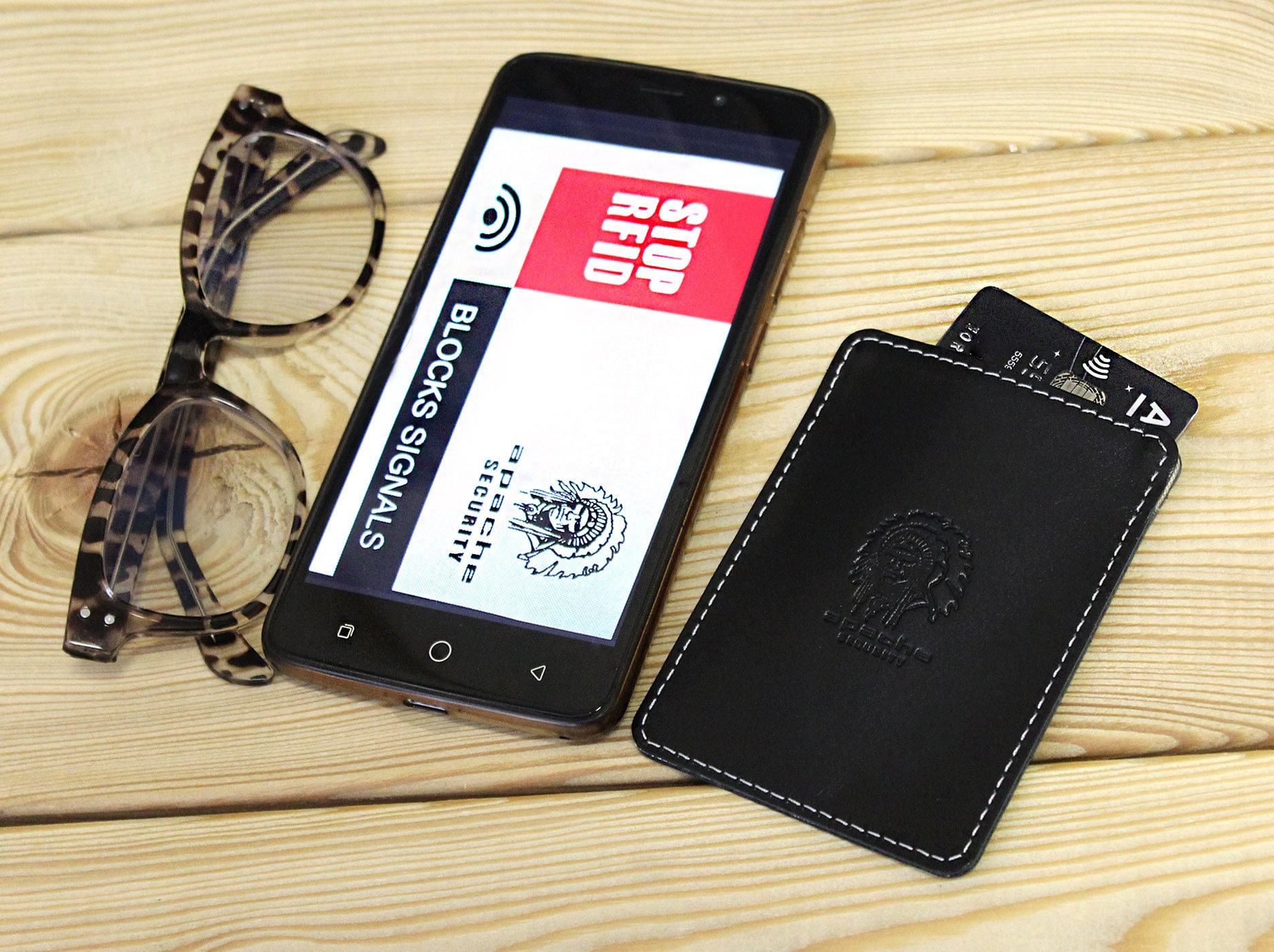 STOP RFID card sleeve, Stop Rfid card holder, Rfid blocking card sleeve,  Anti-theft card holder, Leather RFID-blocking card sleeve,for cards