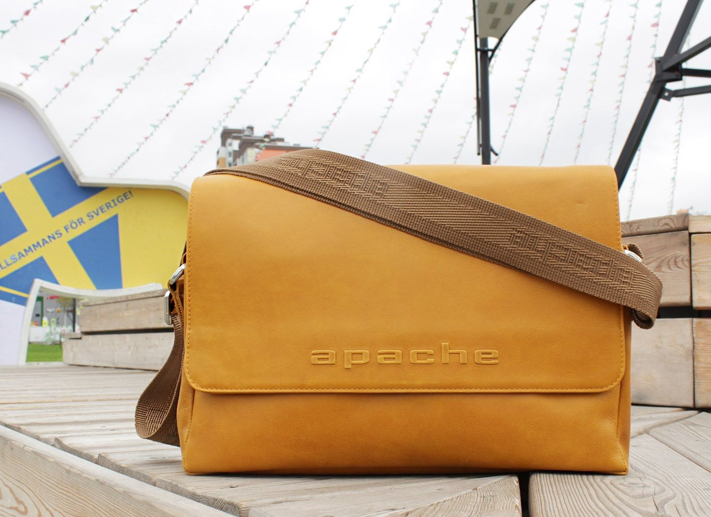 DALLAS tobacco yellow leather bag Leather messenger bag Mustard messenger  bag Leather courier bag Mustard crossbody bag Yellow shoulder bag 03784e186402a