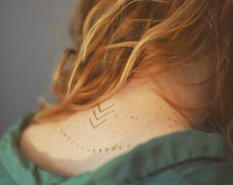 Gold FLASH Metallic Tattoos, Geometric Silver Gold Tattoos, Arrows Tattoos, METALLIC TATTOOS, metallic temporary tattoo, Bracelets tattoo