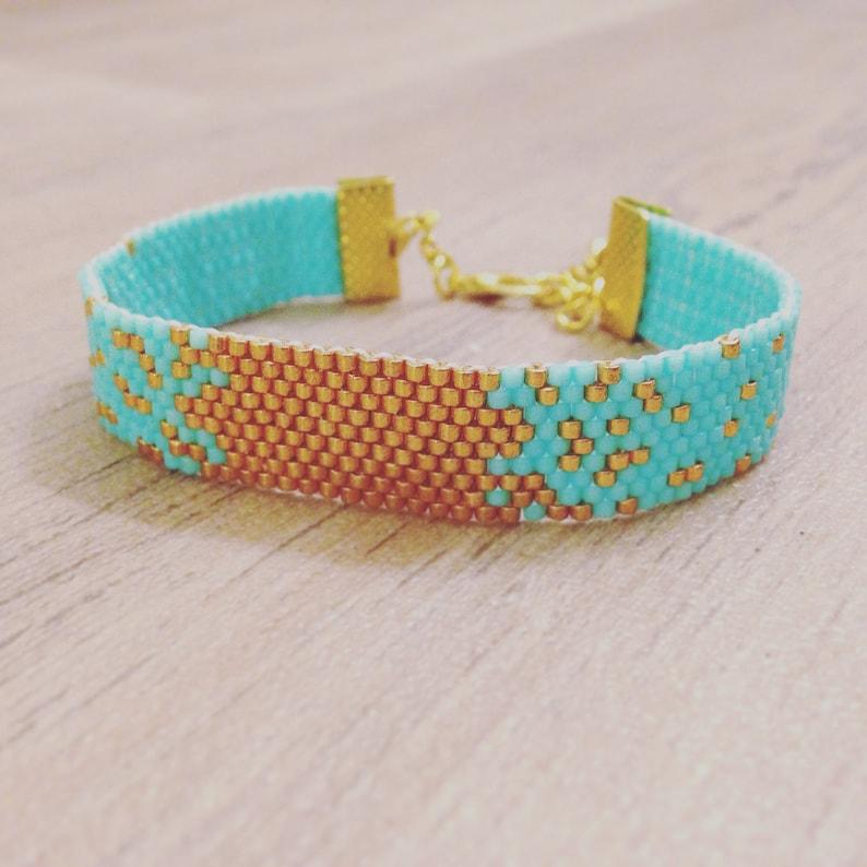 Handmade BRACELET MIYUKI Beads Galaxy Bracelets many colors image 0