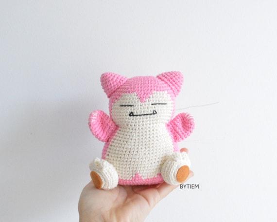 Amigurumi Pokemon Charmander and snorlax crochet pattern by getfun ...   456x570