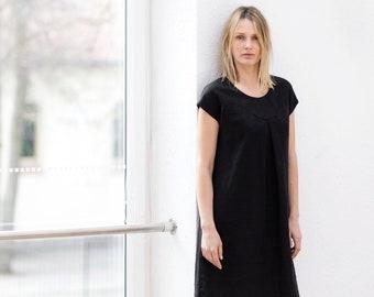 213a6e5523 Linen dress   Washed linen summer dress   Midi linen dress   Linen tunic  dress   linen top   Linen tunica