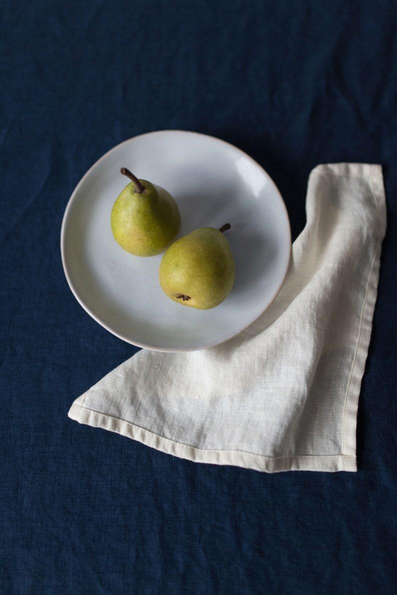 Linen Napkins  Set of Linen Napkins  Washed large linen napkins  Washed Linen Napkins  Weddings napkins