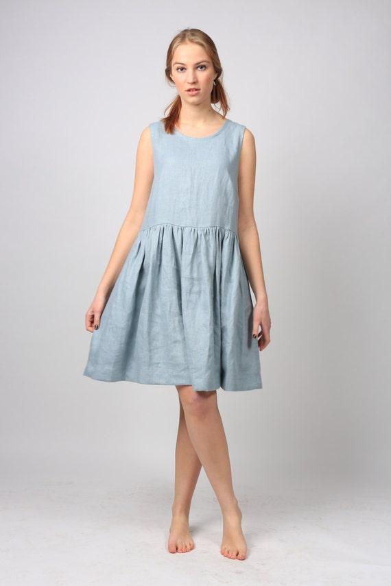 b029863a34 Linen Dress   Loose linen dress   Linen tunic   Linen tunic