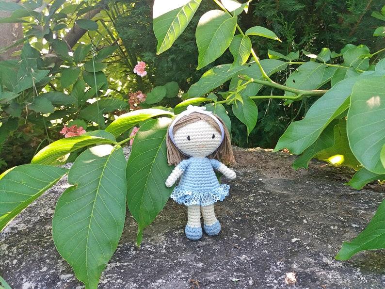 Amigurumi doll pattern Riqui\u00f1a Doll Crochet doll pattern Doll amigurumi pattern Doll crochet pattern