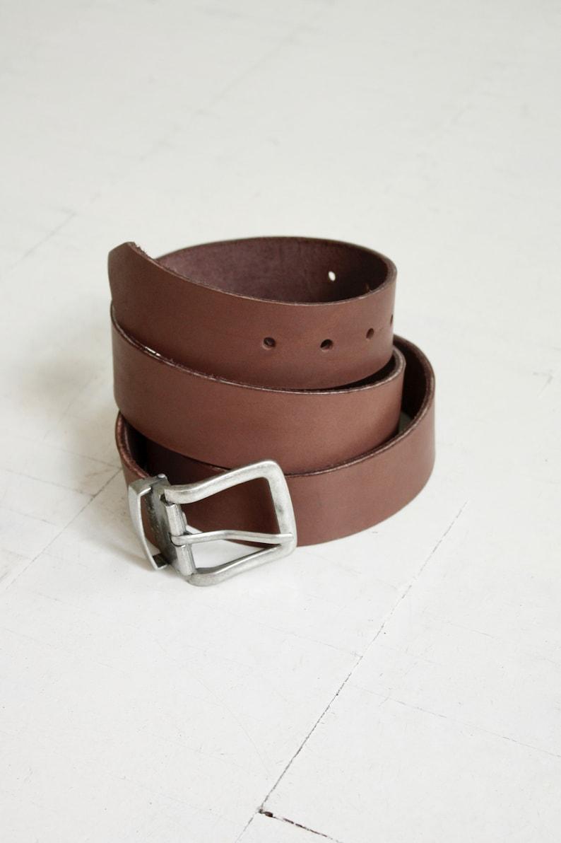 Handmade belt  Classic strong belt  Gift for him  Men/'s belt  Natural leather belt  Adjustable length belt