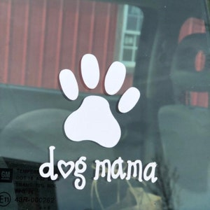 Goldendoodle Dad Paw Print 6 AS1515 Car Sticker Decal Thatlilcabin