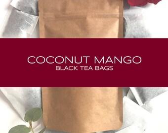 Coconut Mango Black Tea Bags