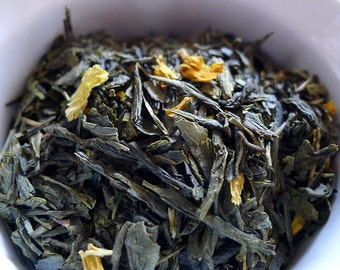 Juicy Peach Loose Leaf Green Tea