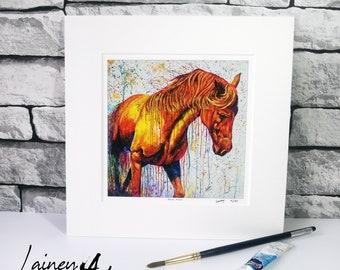 Horse Print, Horse , Horse artwork, Horse wall hanging