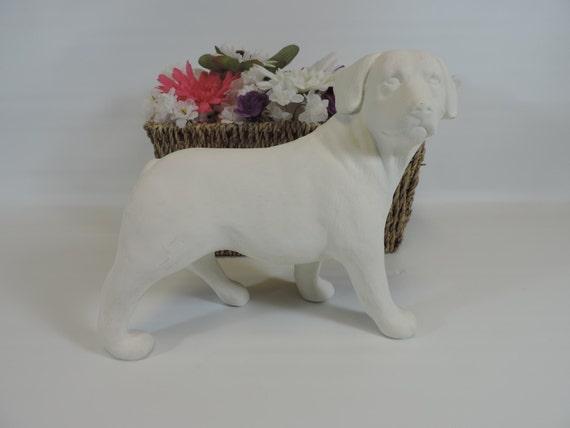 Articulos Similares A Perro Rottweiler Ceramica Listo Para Pintar