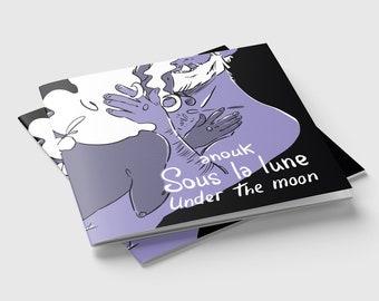 Queer zine - Under the Moon, Inktober 2019