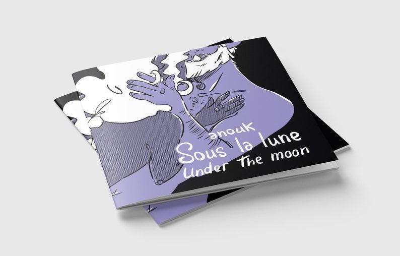 Queer zine  Under the Moon Inktober 2019 1 zine