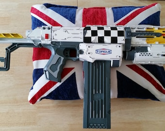 Cel Shaded Torgue Borderlands Inspired Nerf Rifle