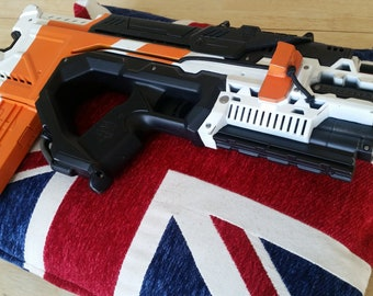 District 9 Inspired Nerf Personal Defence Weapon - Still Fires!
