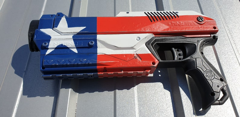 American Flag Custom Painted Nerf  for display or nerf image 0