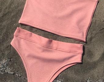 94119c0ae6ed Pink bikini | Etsy
