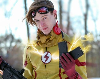 3D Printed Flash / Kid Flash Comic Ear Wings for Cosplay