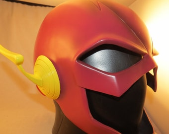 3D Printed Flash New 52 Ear Wings for Cosplay