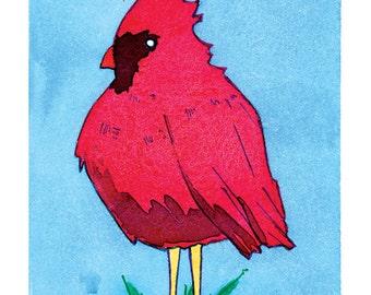 State Birds - Cardinal
