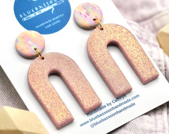 Pink Glitter: Sparkle Arches