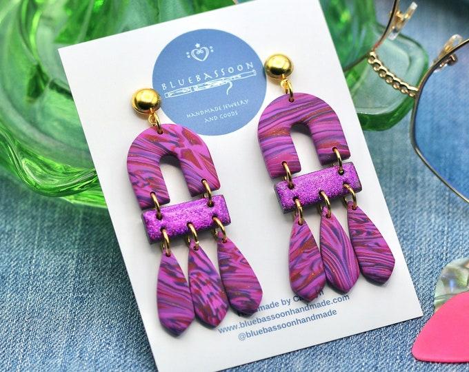 Purple Glitter: Fringe Arches