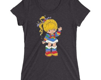 Rainbow Brite Ladies' short sleeve t-shirt