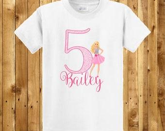 Barbie Birthday Shirt