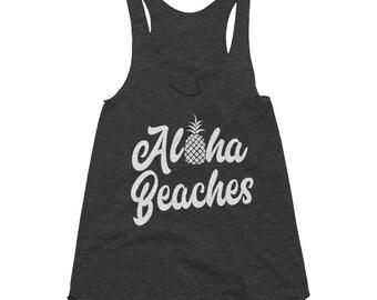 7eede26f6ce84 Aloha Beaches Women s Racerback Tank