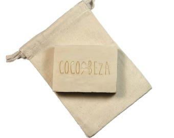 Handmade Soap-Unscented Sensitive Skin Soap-Artisanal Soap-Goat Milk Soap-Homemade Soaps-Olive Oil Soap-Moisturizing Soap