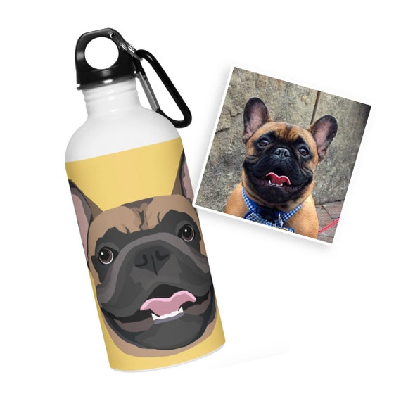 Custom Water Bottle | Drawn from Photo